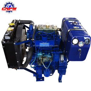 20kw 28hp with double cylinder diesel engine