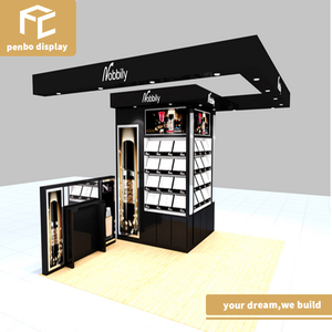 Factory product MDF shopping mall eyebrow threading kiosk for sale