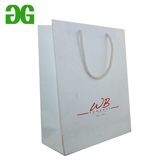 clothes paper shopping bags/coated art paper bag/chirstmas paper bags