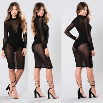 Sexy Smock Dress