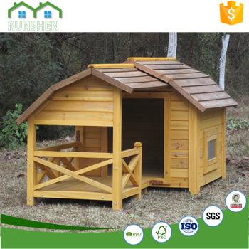 Tetto Piano Casa Del Cane Cucce Per Cani Di Taglia Grande Foto Buy