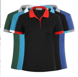 Wholesale Cheap price OEM custom your own logo cvc shirt work uniform polo tshirt