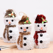 Cheap best selling christmas decorating items toy snowman HD-18SDGJ-AD