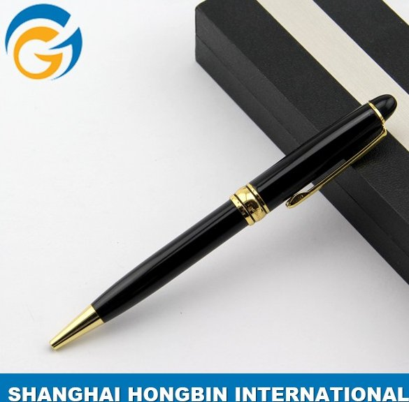 Classical Section Design Black Business Metal Pen