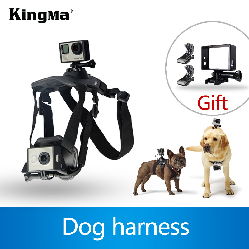 KingMa Hot Sale! Fetch Dog Mount Harness Chest Strap Mount For Gopro Camera