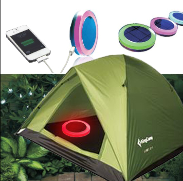 Summer camping outdoor activities solar camp led light emergency solar light