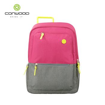 6e4db0a37cc52 Yeni moda özel okul çantası akıllı sırt çantası ışık kız için yüksek  kaliteli ...