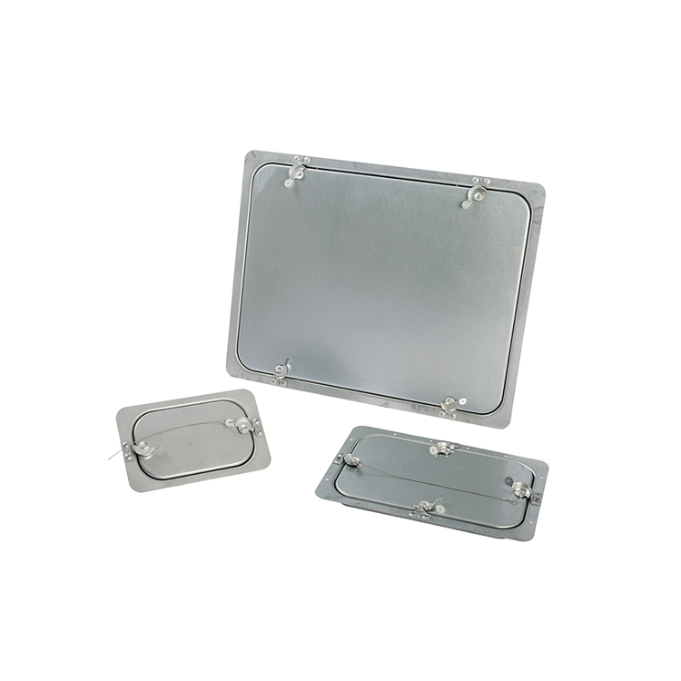 Insulation Rectangular Duct Access Panel For HVAC System