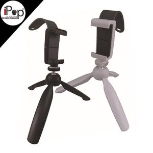 ABS material mini tripod with clamp for watch movie