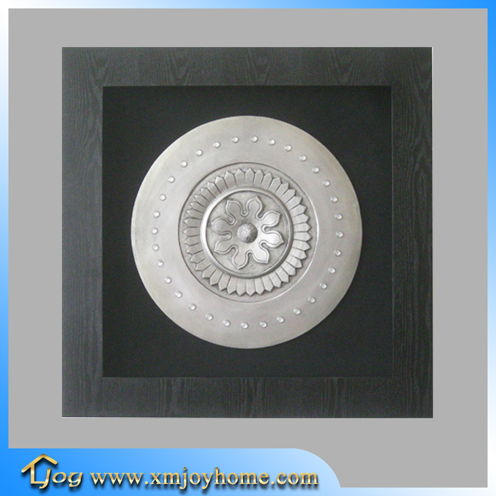 Black wooden shadow boxes mandir for home