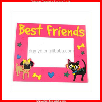 Best Friend 3d Soft Pvc Photo Frame For Best Friend (myd-1542) - Buy ...