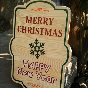modern wholesale hademade wooden christmas signs - Wooden Christmas Signs