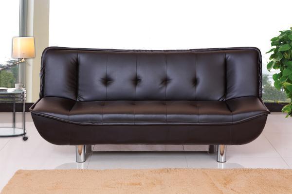 moderne kleurrijke sofa leren bank kleurencombinatie-woonkamer ...