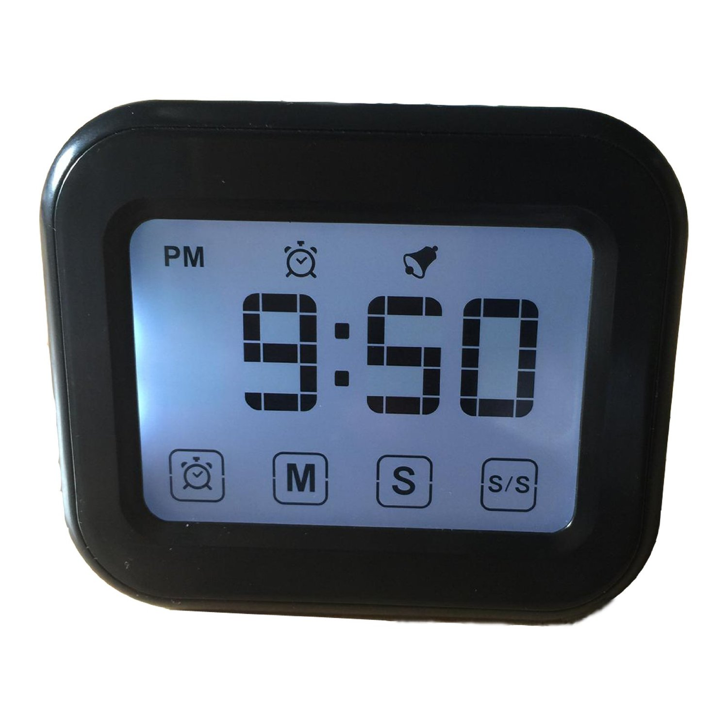 Buy SUMCOO 12/24 Hour Type Digital Countdown and Count Up Kitchen ...