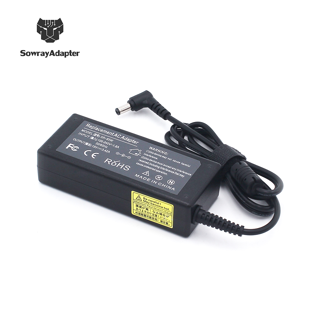 laptop 65W adapter charger ac 19v*3.42a dc 5.5-1.7mm computer adapter for acer