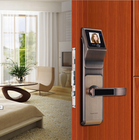 Digital card safe door handle magnetic lock electronic manufacture fingerprint hotel touch code smart automatic security system