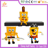 custom made The SpongeBob Movie pvc figures toy customized plastic figurine