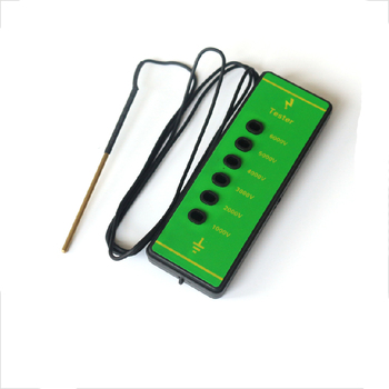 6000Volts Portable Bright Green Fence Tester For Electric Fence