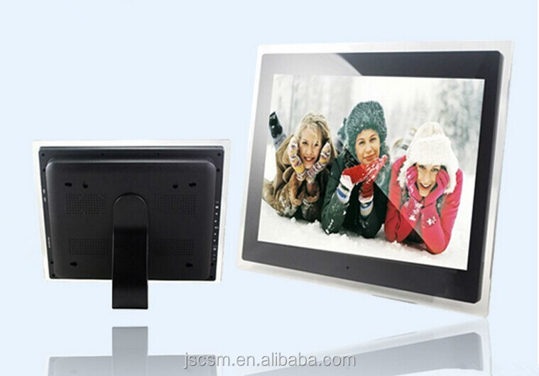 17 inch digital photo frame/player funny videos/songs/pictures