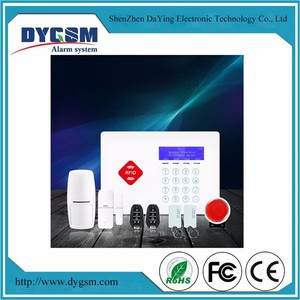 Smart Home Security Alarms Systems Laser Beam Wireless 50 Zone Fire Alarm Panel