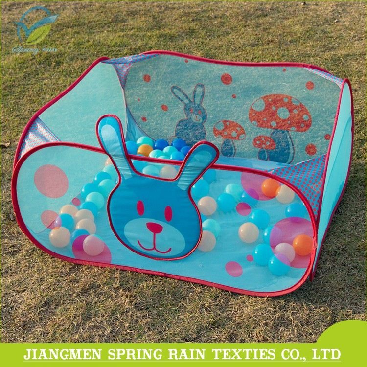 Top selling cartoon tent toys children pop up play ball pool