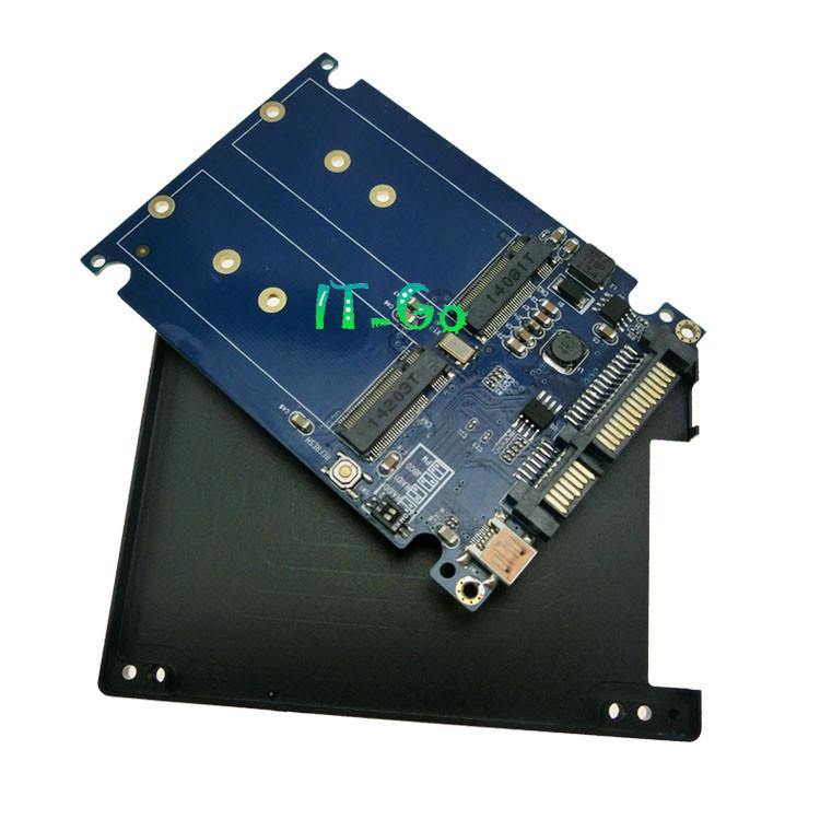 Dual M2 NGFF Ssd SATA3 SSDs Turn Sata Adapter Expansion
