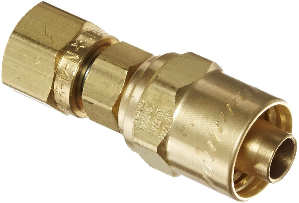 1-11-1//2 NPTF Female Eaton Hansen HA1525200 ISO-A Zinc Plated Steel Hydraulic Fitting 1 Body 1-11-1//2 NPTF Female 1 Body Plug