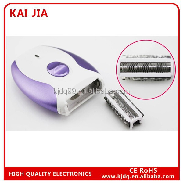 electric Lady shaver /rechargeable lady shaver /facial hair removal for woman wholesale barber supplies