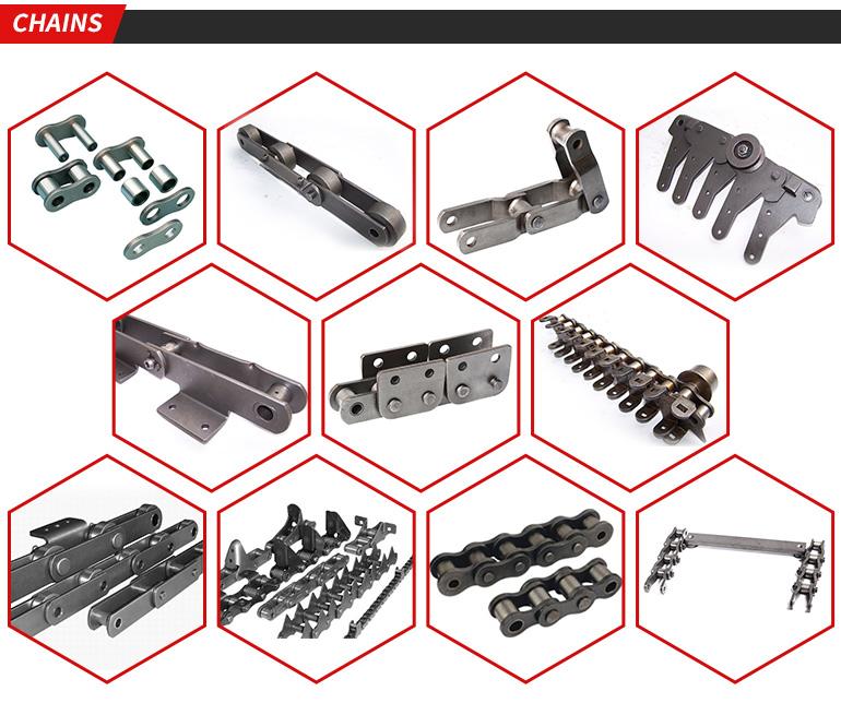 Muy pequeño, de cadenas de acero 03C Cadena de acero paso 4,7625