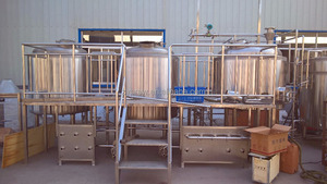 2000L craft beer making plant micro brewery equipment of beer