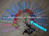Special Customize High Quality&High Brightness el car sticker/el flashing car sticker/equalizer el car sticker