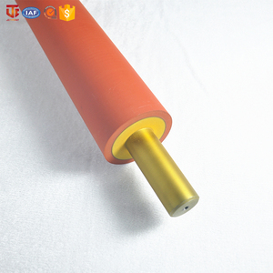 Small neoprene EPDM silicone pu NBR rubber rollers for laminating
