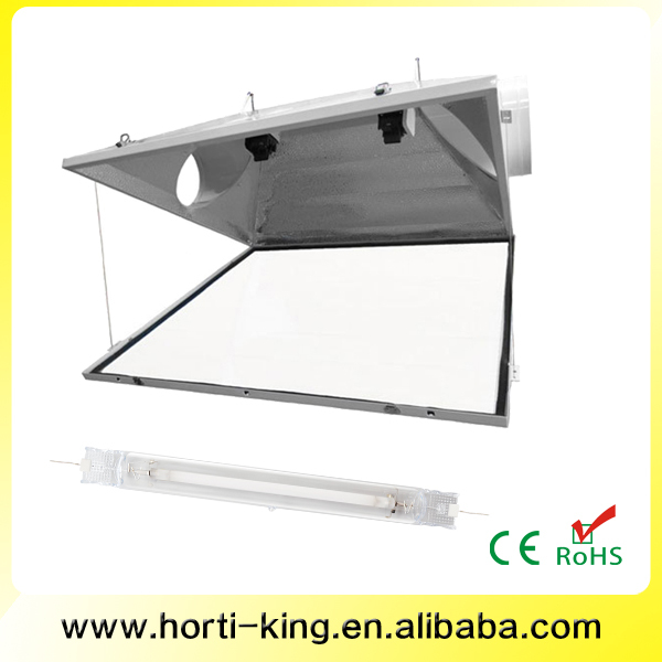 Hydroponic grow kit double ended grow light set