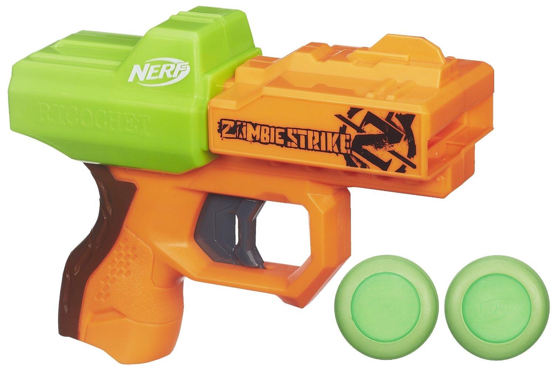 Get Quotations · Nerf Zombie Strike Ricochet Blaster