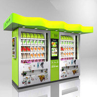 High quality snack food vending machines with good after-sale service