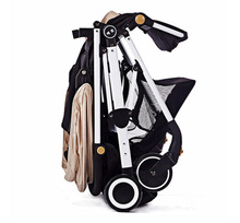 Oxford fabric material aluminum alloy frame light weight baby trolley stroller from anhui china