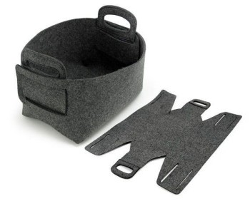 Eco-Friendly Expandable Felt Storage Box