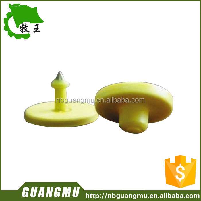 RFID Animal Ear Tags chip type is EM4205 Hightags256