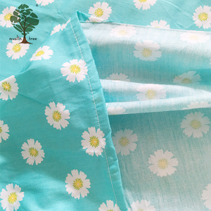 Muslin tree lovely pattern baby soft printed 100% cotton new bed fitted crib sheet