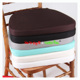 Various Color Soft Chiavari Chair Cushion Wedding Seat Pads