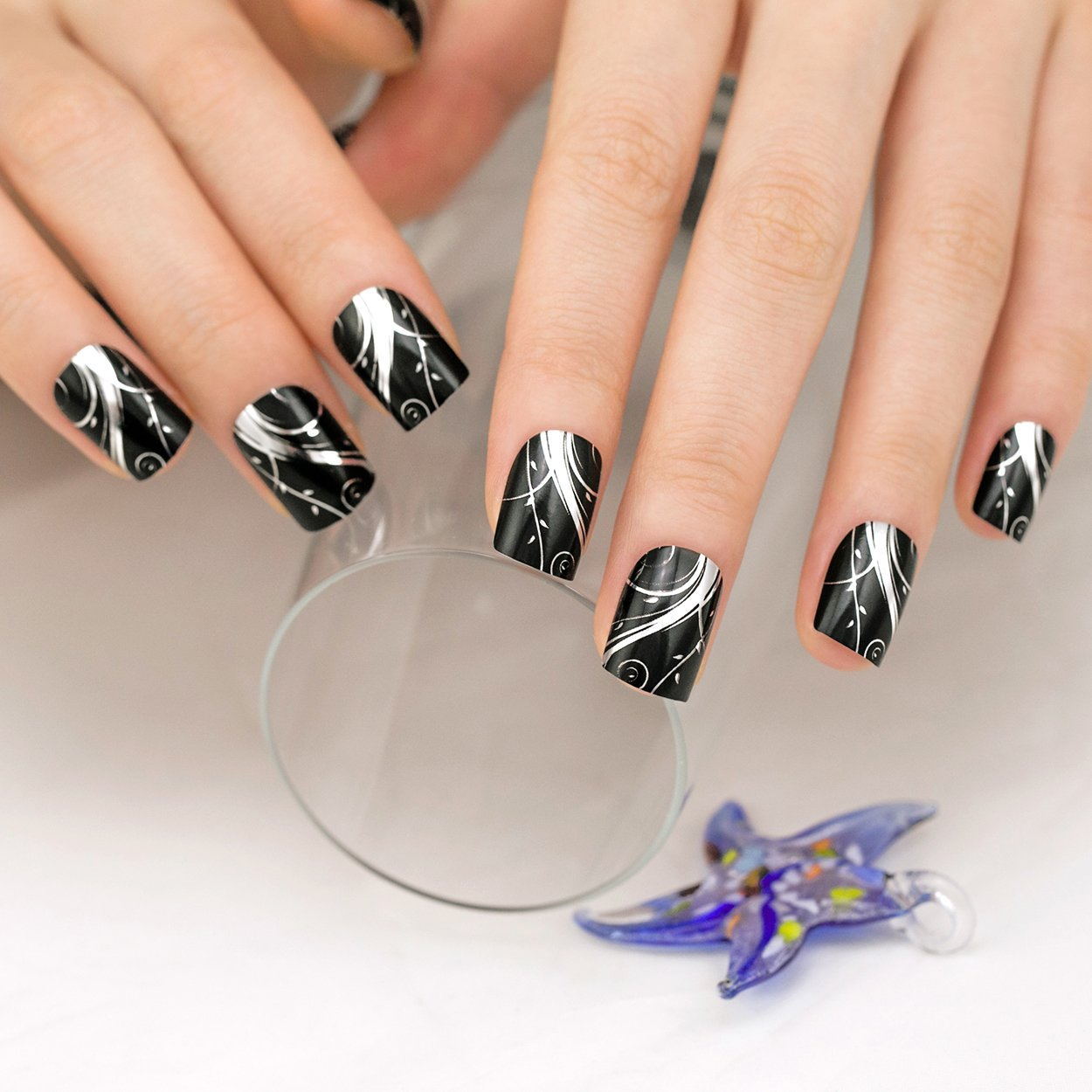 Cheap Black Metallic Nails, find Black Metallic Nails deals on line ...