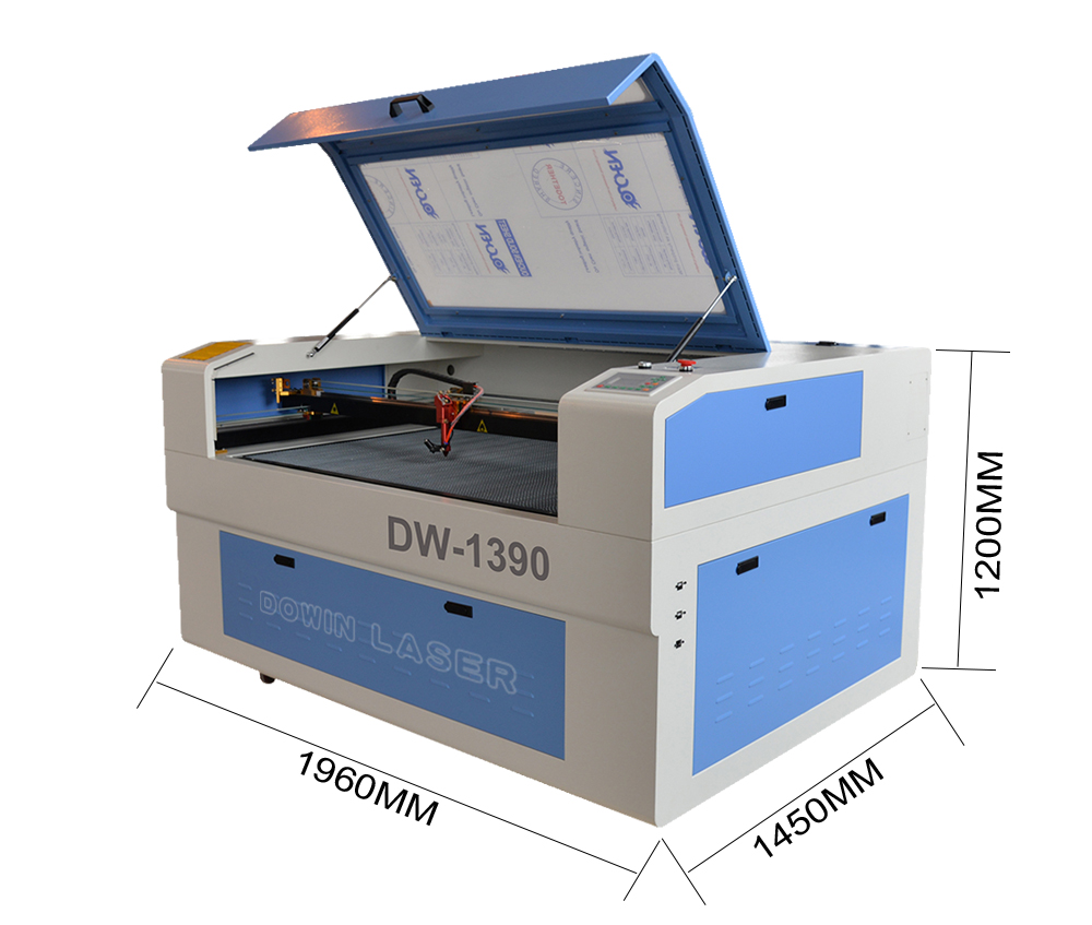 Factory Price 80W 100W 130W Wood acrylic Paper Co2 Laser Cutting Machine