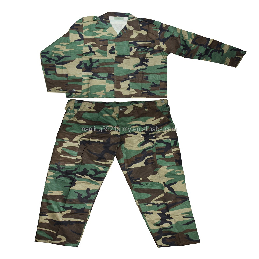 Supply Forest Camouflage BDU Uniform