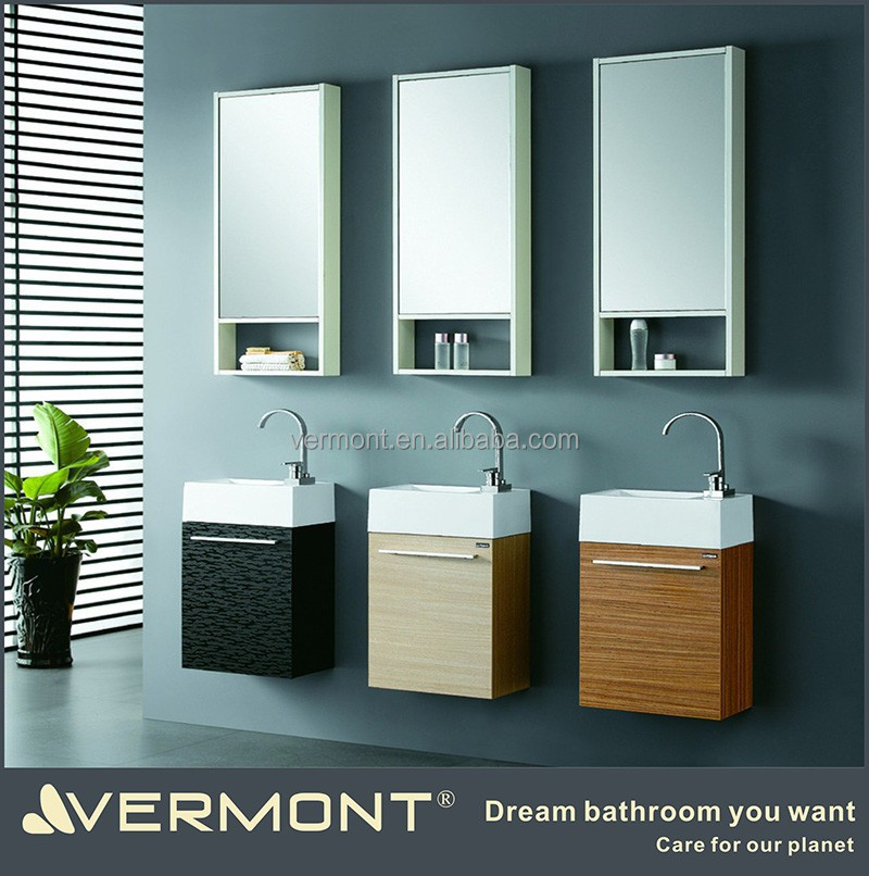Wall Hung Bathroom Mirrored Corner Cabinet Import From China