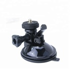 Universal 1/4 Screw PC Material windshield suction cup camera mount