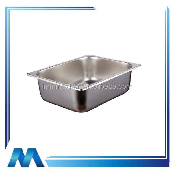 Hot selling item US style stainless steel gastronorm food container for buffet