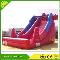 Water park giant inflatable floating water slide for kids
