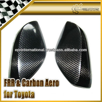 Carbon Body Kit FR-S Carbon Fiber Side Mirror Cover For Toyota FT86 GT86 Sicon