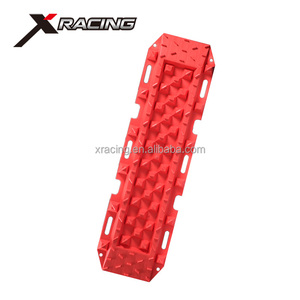 CS-013 high strength 4x4 recovery tracks reinforced nylon sand track escaper buddy mat traction for offroad extraction