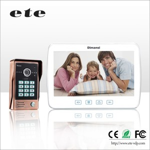 Digital TCP/IP video door phone video intercom IP intercom10 inch indoor screen system
